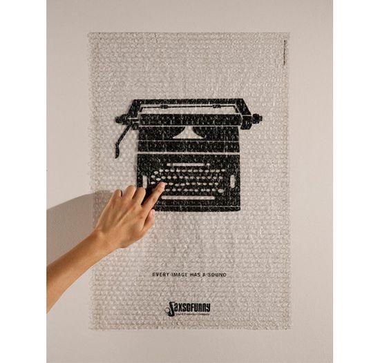 Saxsofunny-sound-production-company-typewriter