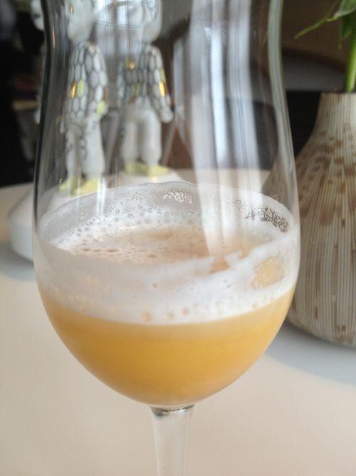 Gin tonic de manzana