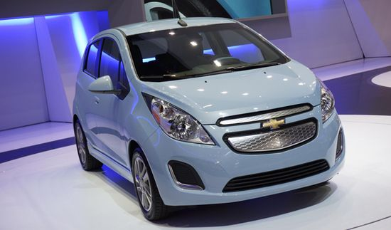 Chevrolet Spark EV / Newspress