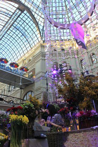 Centro comercial de Moscó en el 8 de Marzo