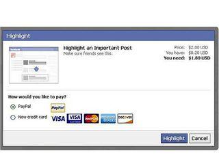 FB con paypal