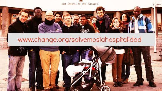 Campaña change.org hospitalidad