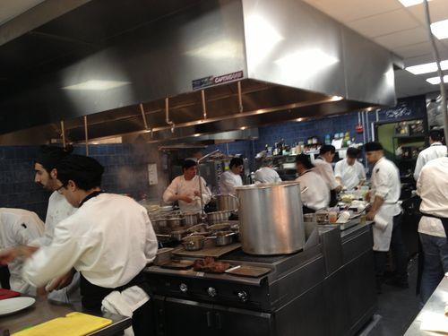 Cocinas de Manzanilla en plena actividad