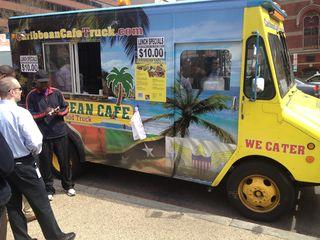 Food truck con café del Caribe