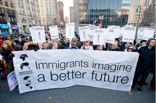 Bruguera immigrantas creative time