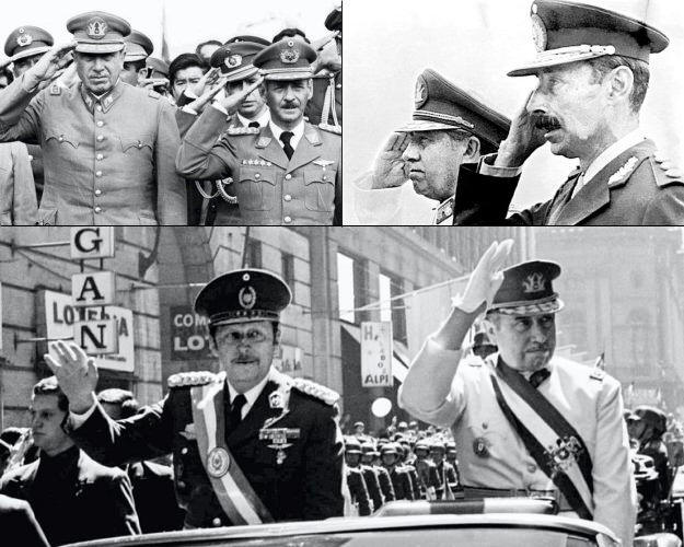Pinochet-Banzer-Videla-Stroessner