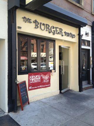 Fachada de Burger Bistro, en Brooklyn