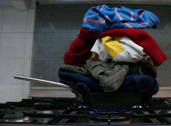 Olor a cocina en la ropa