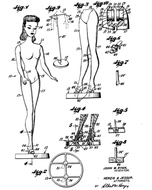 Doll construction Nov 21 1961