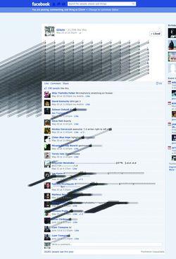 Facebook por Glitchr a.k.a. Laimonas Zakas