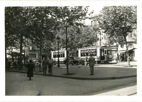 La plaza Rovira, 1962