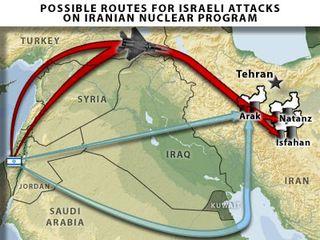 Rutas_Ataque_Israel_Iran