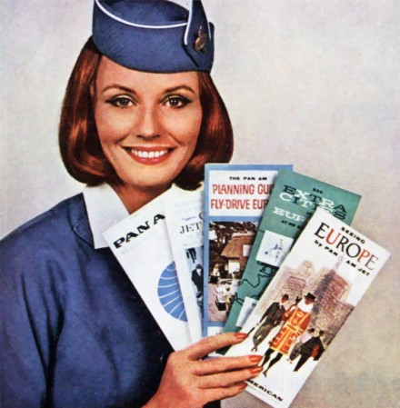 Folletos con Pan Am