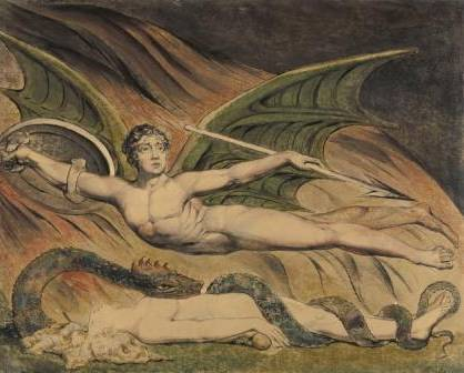 Blake Satan exulting over Eve 1795