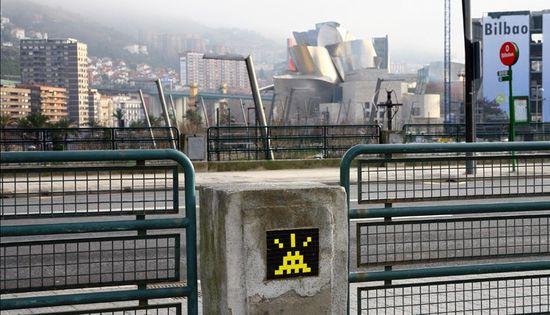 Invader en Bilbao