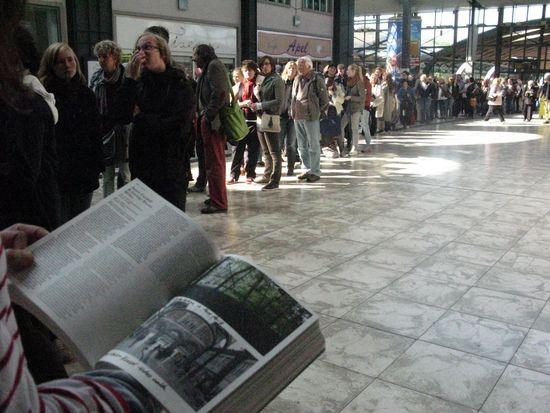 Documenta13.Colas Jean Cardiff Hauptbahnhof