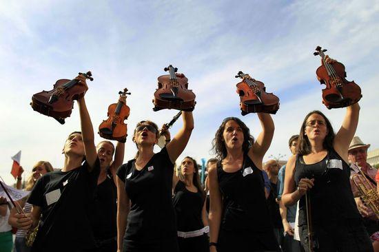 Protesta musicos