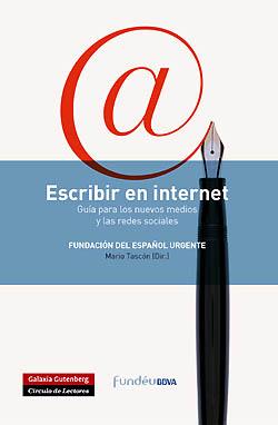 Portada libro escribir e internet