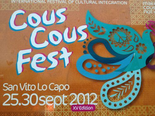 Cartel oficial del festival cultural y de integración
