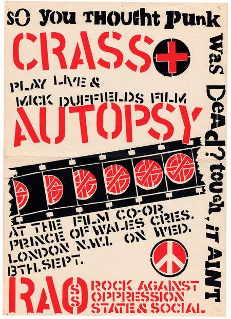 Crass Poster, 1978