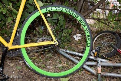 Los que odian las bicis tienen tendencia a odiarlas siempre.