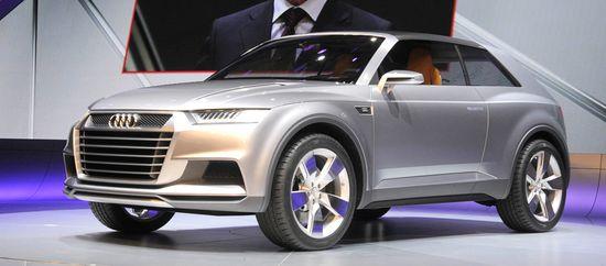 Audi Crosslane Coupé / Unitedpictures