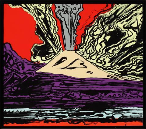 POMPEYA.getty.Warhol.monte Vesubio.1985