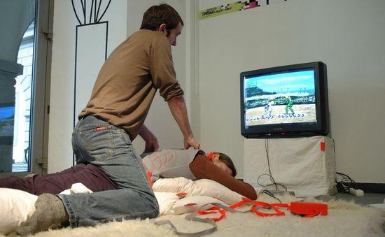 Massage Me de Hannah Perner-Wilson y Mika Satomi