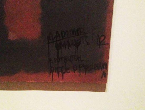 Rothko dañado.foto