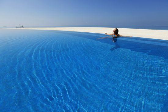 Chilling Out By The Pool velassaru maldivas
