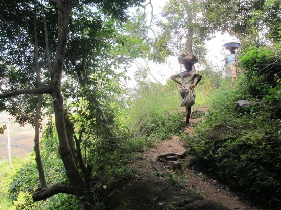Subiendo el Gangan (Kindia)