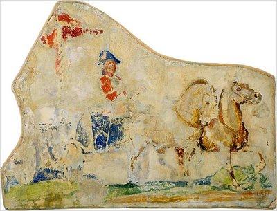 Un fragmento del mural