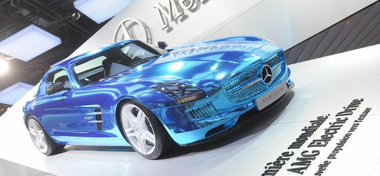 Mercedes SLS AMG Electric Drive / Unitedpictures