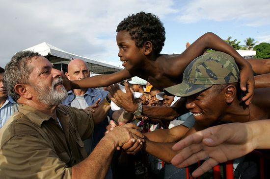 Lula y los pobres