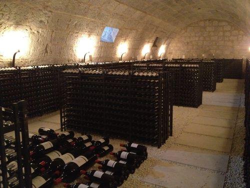 Cava privada anexa al monasterio donde se conservan algunas joyas de Abadía de Retuerta