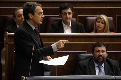 Zapatero y Caamaño en 2010. Bernardo Pérez