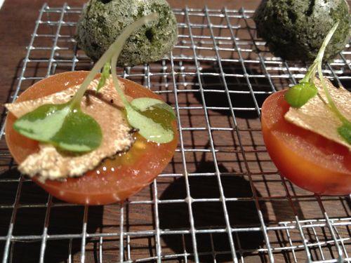 Tomates cherry con trufa uncinatum