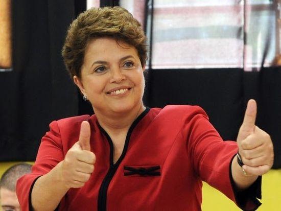 El pulgar de Dilma