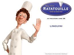 Linguini, uno de los protagonistas de Ratatouille