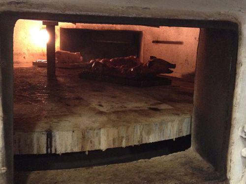 El horno de Coque un Ferrari en su cocina