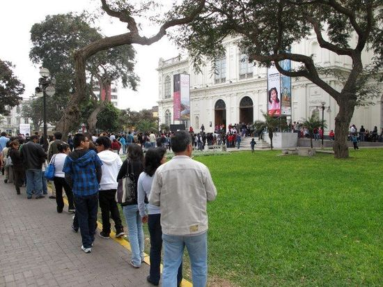 Museo arte de Lima.colas