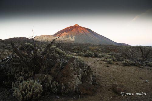 Amanece en el Teide