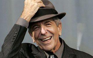 Leonard Cohen, un hombre feliz