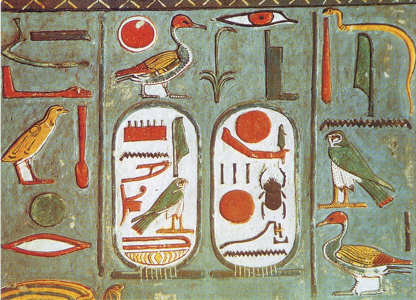 Resultado de imagen de jeroglíficos