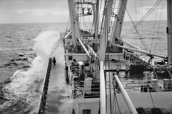 Lothar_Baumgarten,_Crossing_the_Atlantic_with_the_MS_Boleslaw_Chrobry,_PLO,_1978