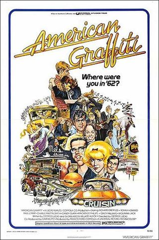 American Graffiti - el cartel original