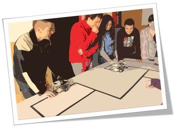 La robótica proporciona un entorno educativo propicio para que el estudiante aprenda a resolver problemas.