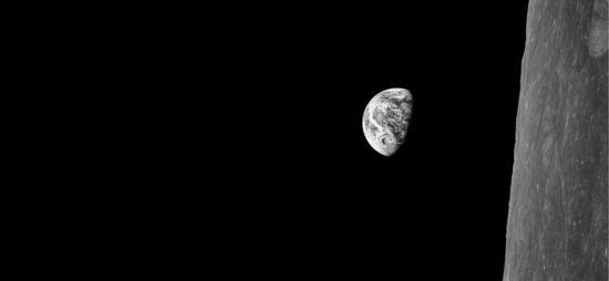Earthrise. Una de las imágenes de The Last Pictures
