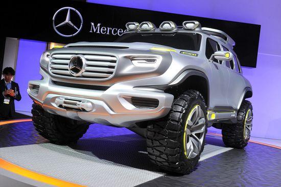 Mercedes Ener G Force / Unitedpictures