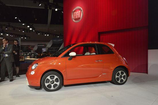 Fiat 500e / Newspress